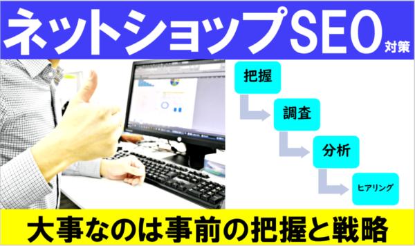 ネットショップ・ECサイトのSEO記事 制作手順を確認
